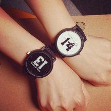 Lovers' Quartz Wristwatches