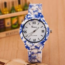 Floral Patterned Ladies Wristwatches