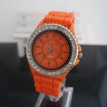 Rubber Band Quartz Wristwatches