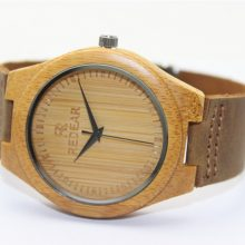 Creative Bamboo Wristwatches