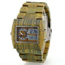 Digital Wooden Wristwatches