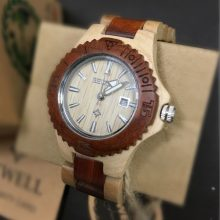 Analog Wooden Watches