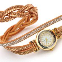 Rhinestone Bracelet Watches