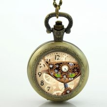Steampunk Cat Pocket Watches