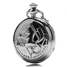 Fullmetal Alchemist and Capitain America Pocket Watches